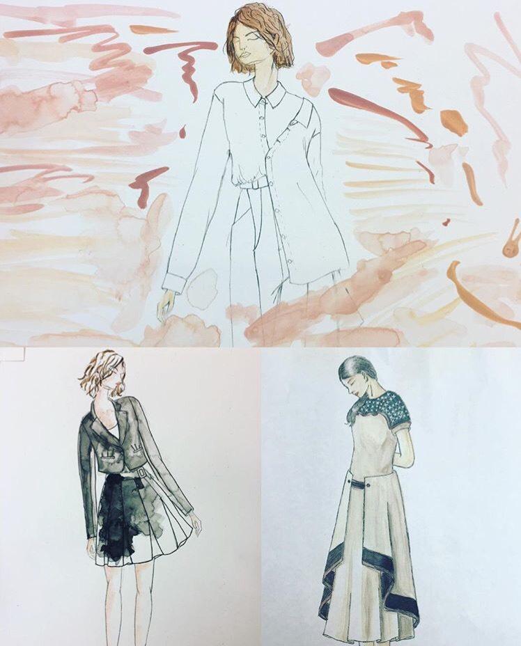 今回のサマーセミナーでは、「ファッションクロッキー」、「スタイル画」、「デザイン画」の三つのコースをご用意!