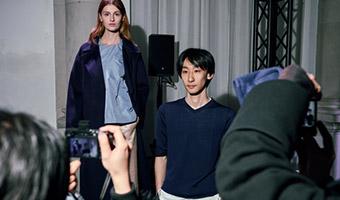 エスモード卒業生の村田さんが手がけるブランドHARUNOBUMURATAがミラノコレクションでデビュー!