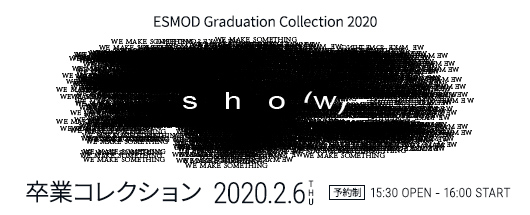 ESMOD Graduate Collection 2020 / ESMOD卒業コレクション2020