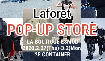 ESMOD POP-UP STOREがラフォーレ原宿にオープン!
